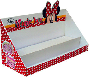 Paper Carboard Display Counter Box for Disney Promotion Gift pictures & photos