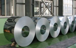 Hot DIP Galvanized Steel Coil with Stock