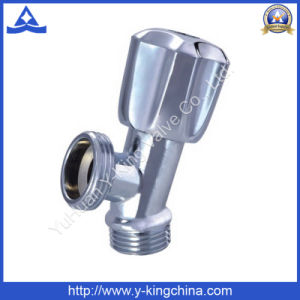 Brass Angle Valve with Plastic Handle (YD-5011) pictures & photos