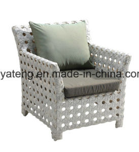 Top Quality Selling Aluminum Woven Outdoor Garden Furniture Sofa Set (YT616) pictures & photos