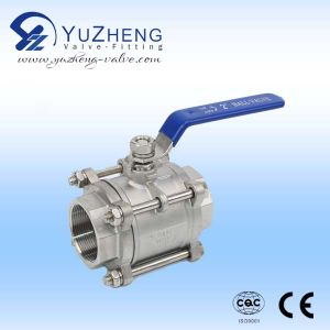 3PC Clamp End Ball Valve pictures & photos