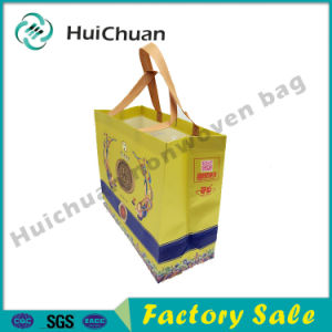 China Recycle Fancy Gift Wine Bag pictures & photos