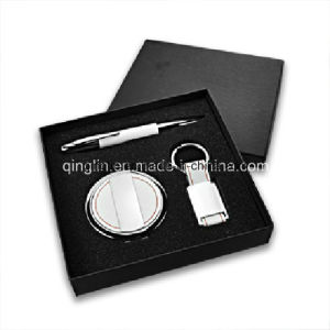 Attractive Ladies′ Business Keychain and Mirror Gift Set (QLTZ-0038) pictures & photos