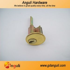 Iron Lock Case Double Open Door Rim Lock pictures & photos