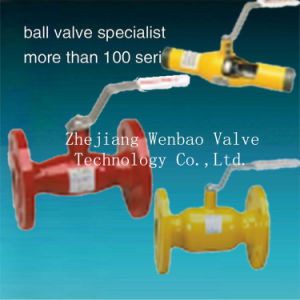 Flanged Type Full Welding Ball Valve Pn25 pictures & photos