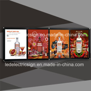 Menu Board with Restaurant and Fast Foods Products pictures & photos
