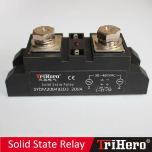200A Industrial Class Solid State Relay, SSR-D200, DC/AC SSR pictures & photos