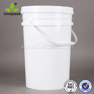 6 Gallon Bucket with Plastic Handle and Lid for Paint Use pictures & photos