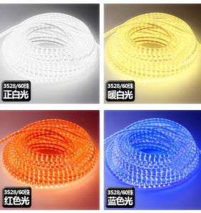 IP65 High Voltage Christmas LED Rope Light pictures & photos