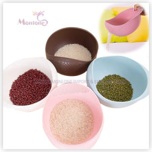 Kitchen Sieve Vegetable Washing Storage Basket Sink Plastic Rice Colander pictures & photos