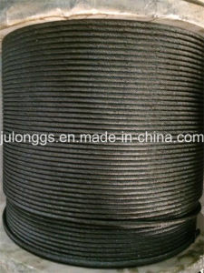 Black Steel Wire Rope, Ungalvanized Steel Wire Rope 19*7, Non Rotating Steel Wire Rope pictures & photos