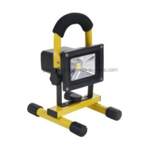 10W Rechargeable LED Floodlight 120° Aluminium China Factory pictures & photos