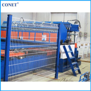 Factory Price Semi-Automatic Panel Fence Mesh Welding Machine (HWJ2000 with line wire and cross wire 3-8mm) pictures & photos