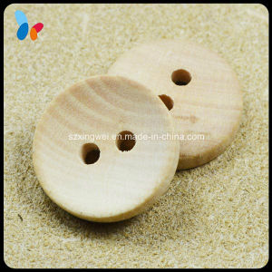 Nature Wood Garment Button with 2 Holes pictures & photos