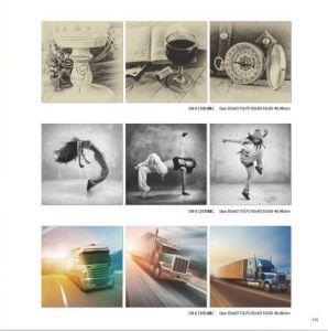 Modern Promotional Picture Art Canvas Prints pictures & photos
