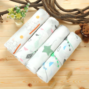 Bamboo Fiber Baby Blanket, Baby Swaddle Blanket pictures & photos