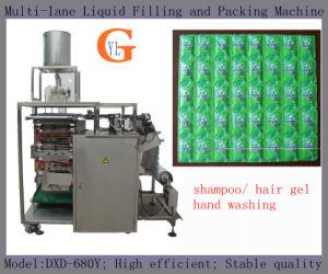 Slek Shampoo Packing Machinery (4-side sealing; 10ml per sachet;) pictures & photos