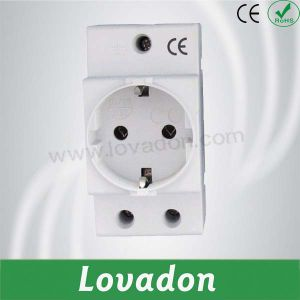 Cap20 Germany Type DIN Rail Socket pictures & photos