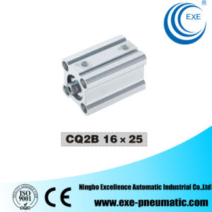 Cq2 Series Thin Type (Compact) Pneumatic Cylinder Cq2b16*25 pictures & photos