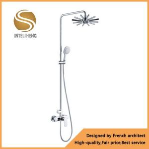 Brass Sanitary Ware Bathroom Shower Mixer (AOM-6102) pictures & photos