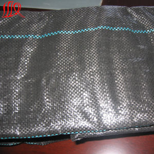 Plastic Woven Geotextile Black Color pictures & photos