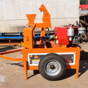 Diesel Hydraulic Interlocking Brick Machine (SEI1-20) pictures & photos
