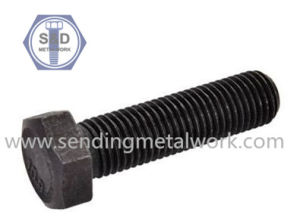 Hexagon Bolts DIN933 Class10.9 Full Thread Bolts Black