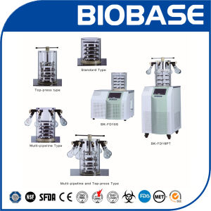 Biobase Stoppering Freeze Dryer, China Vacuum Freeze Dryer Bk-Fd10t pictures & photos