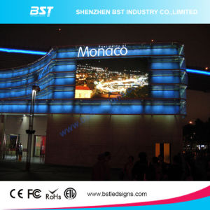 Bst High Resolution Advertising Outdoor Full Color Fixed LED Display Screen for P8 High Brightness pictures & photos