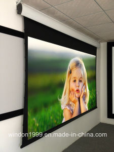 Tabtensioned Projector Screens / Motorized Screen pictures & photos