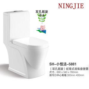 Economic Bathroom Furniture Ceramic Toilet (NJ-5881) pictures & photos