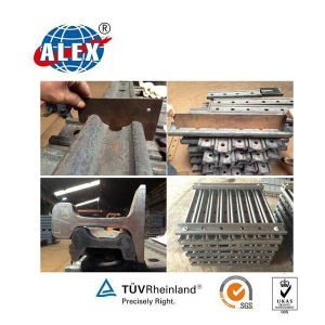 4&6 Holes Fishplate for Railway Fastening (UIC54) pictures & photos