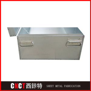 Competitive Price China Custom Metal Empty Tool Box pictures & photos
