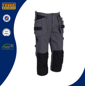 Polyester Cotton Twill Durable Reflective High Vis Work Pants pictures & photos