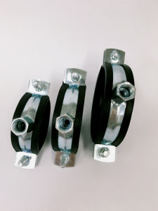 Plumbing Pipe Clamps with Rubber pictures & photos