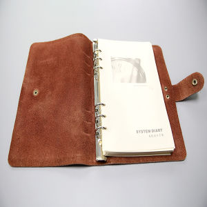 Leather Notebook Printing with One Colour Printing pictures & photos