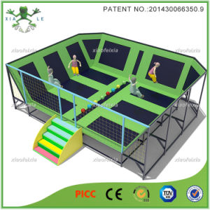 Free Jumping High Performance Indoor Olympic Trampoline Park (14-4313C) pictures & photos