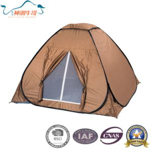 190t Polyester Steel Pole Single Layer Pop up Outdoor Tent