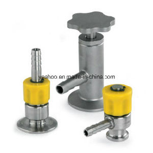 Aseptic Sample Valve Sanitary Stainless Steel Sampling