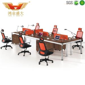 Modern Office Workstation Partition Layout for 6 People (HY-Z01) pictures & photos