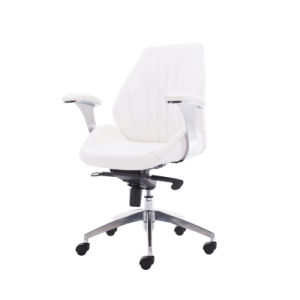 BIFMA Certificate Leather Upholstered Swivel Manager Executive Office Chair (FS-8803H) pictures & photos