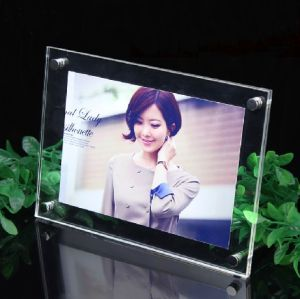 Customized Acrylic Photo Picture Frame OEM (QRD-015)
