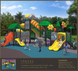 Kaiqi Medium Sized Forest Treehouse Themed Children′s Playground (KQ10058A) pictures & photos