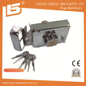 Security High Quality Door Rim Lock (CLT2111CP6) pictures & photos