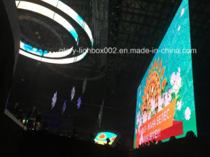 Fexible Rental P20 LED Screen Display LED Wall pictures & photos