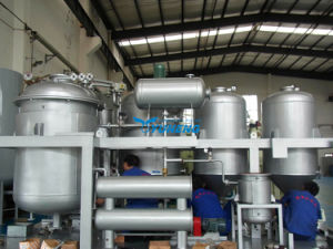 Waste Oil Decontamination Refining Plant pictures & photos