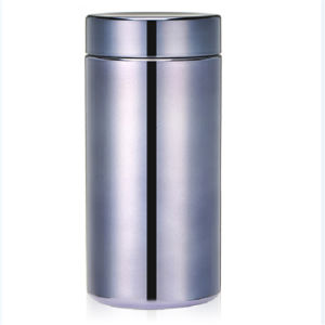 13oz/380ml Grey HDPE Chrome/Metallized Plastic Nutrition Packaging Bottle pictures & photos