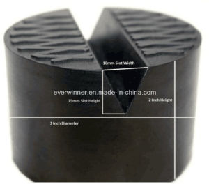 Universal V Slot Large Jack Point Guard Anti Bend Rubber Pad for Hydraulic Jack pictures & photos