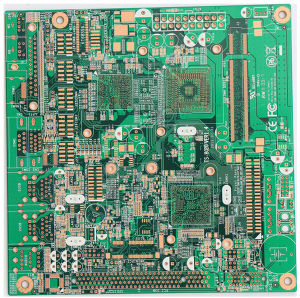 10layers PCB with Immersion Gold/ BGA Board/UL