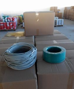 AWG24 Cat5e Data Cable Communication Wire pictures & photos